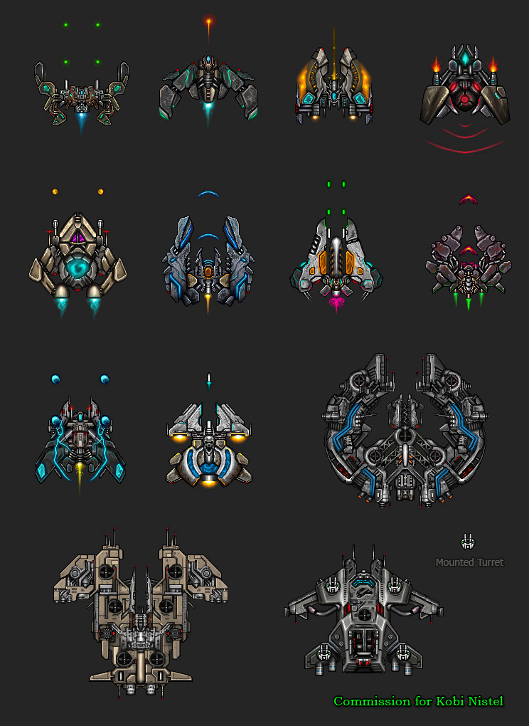 space game ships